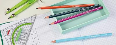 Stabilo Trio Grafitová tužka HB - růžová - 4