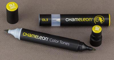 Chameleon Color Tones  Olive Green - OL3 - 4