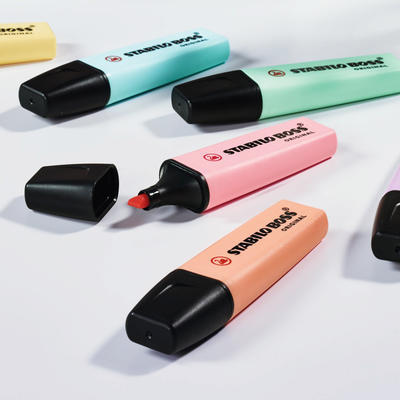 Stabilo Zvýrazňovač BOSS Original - sada 6 pastelových barev - 4