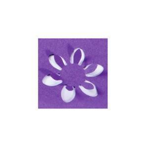 HEYDA Děrovač (raznice) modrý 22 mm - Květ obrysový - 4