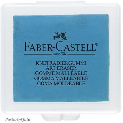 Faber-Castell Stěrací pryž umělecká - červená, žlutá, modrá, v plastové krabičce - 4
