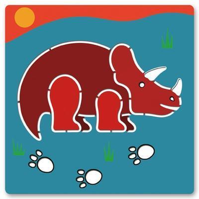 Djeco Šablony Dinosauři - 5ks - 4
