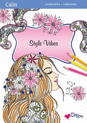 CALM Relaxační omalovánky - Poklidný venkov a Style Vibes - 4