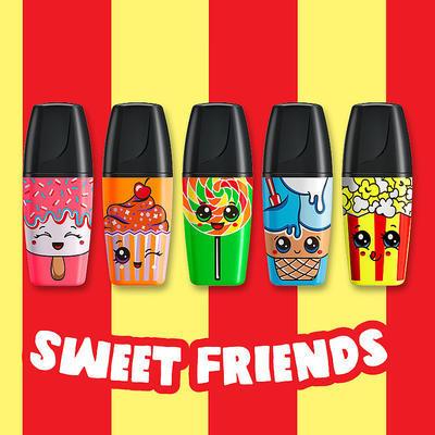 Stabilo Zvýrazňovač BOSS MINI Sweet Friends - žlutý - 4