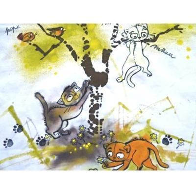 StampoTextile, Razítka na textil - kočky - 4