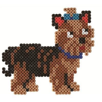 Hama Midi Velká dárková sada - Oblíbená zvířátka, 4000 ks - 4