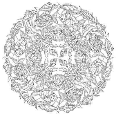 Antistresové omalovánky - Ztracený oceán - 4