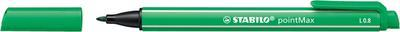 Stabilo pointMax - zelená 0,8 mm - 5