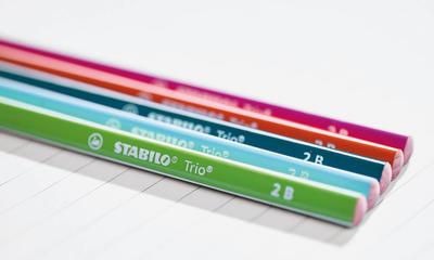 Stabilo Trio Grafitová tužka HB - růžová - 5