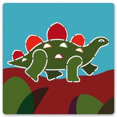 Djeco Šablony Dinosauři - 5ks - 5