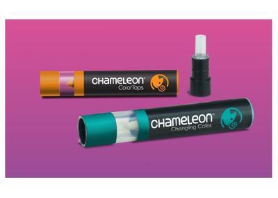 Sada stínovacích fixů Chameleon Color Tops - Základní tóny, 5ks - 5