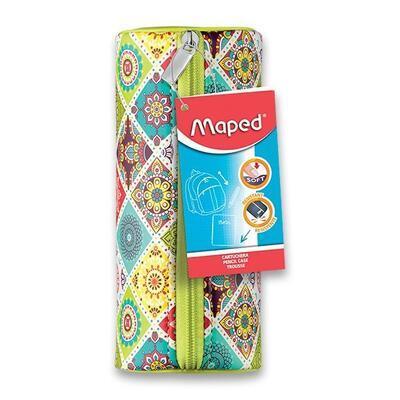 Pouzdro MAPED Mosaics kulaté - ružové, fialové, zelené - 5