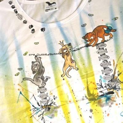 StampoTextile, Razítka na textil - Kočky - 5