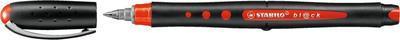 Inkoustový roller STABILO Bl@ck Fine - 0,3 mm, červený - 5