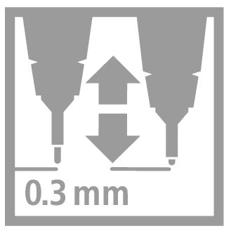 Stabilo SENSOR  Liner inkoustový F, barva černá - 6