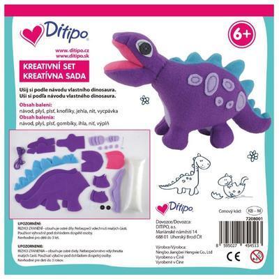 Kreativní set - Lama, Pejsek, Dinosaurus nebo Medvídek - 6