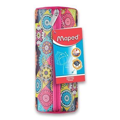 Pouzdro MAPED Mosaics kulaté - ružové, fialové, zelené - 6