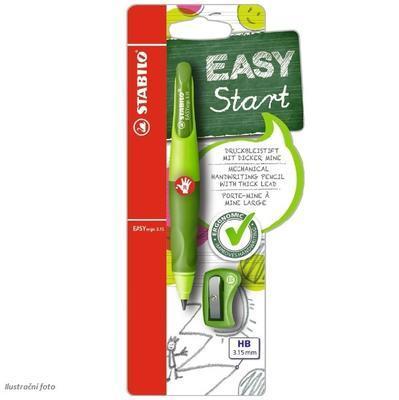 Stabilo EASYergo Versatilka Start 3,15 mm - světle/tmavě zelená pro praváky - 6