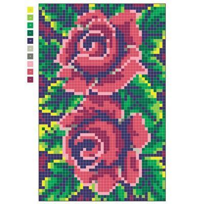 Omalovánky pro dospělé - Pixel Art - 6