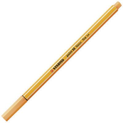Stabilo point 88/054 - fluorescentní oranž - 0,4 mm - 7