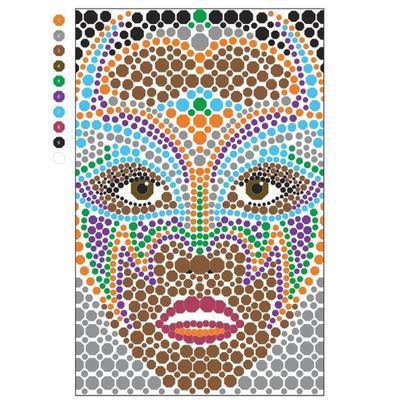Omalovánky pro dospělé - Pixel Art - 7