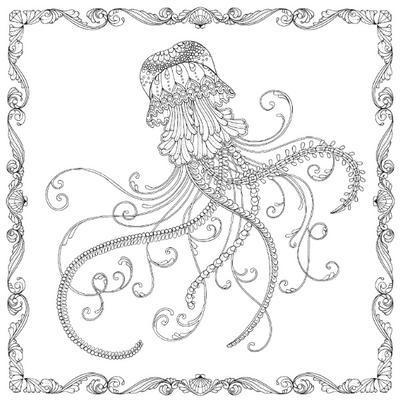 Antistresové omalovánky - Ztracený oceán - 7